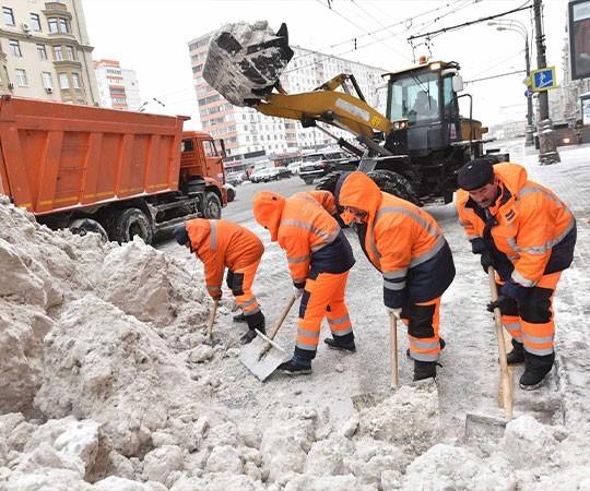 Уборка снега в Ставрополе и Ставропольском крае
