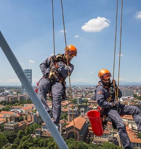 Услуги промышленного альпинизма в Ставрополе